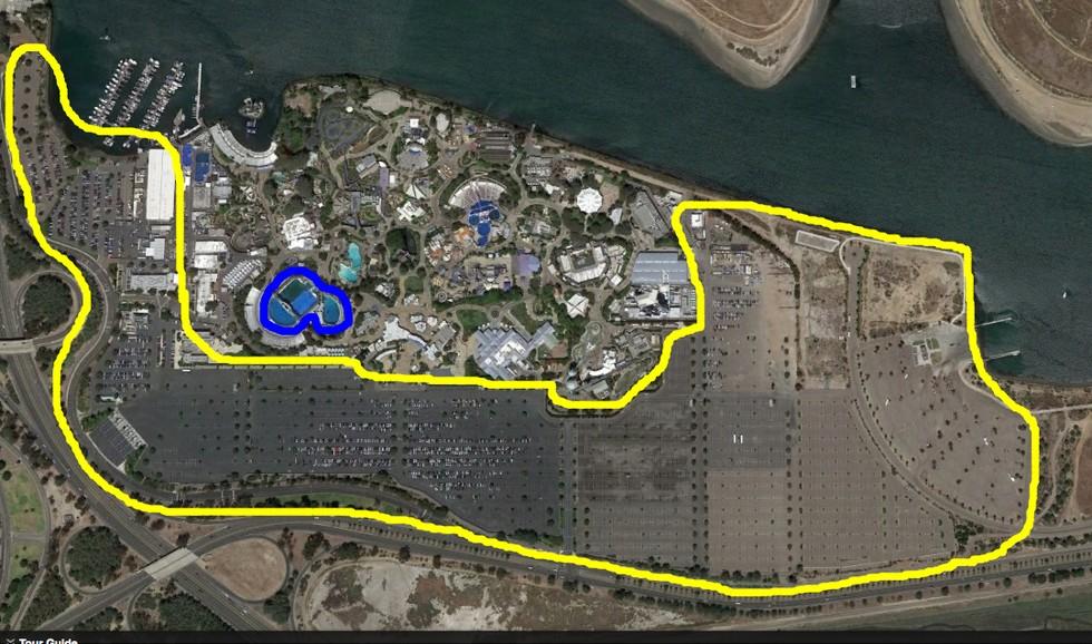 estacionamientos de seaworld 10