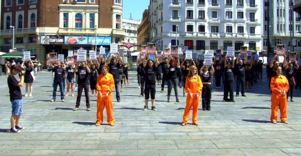 Protesta-activistas-animales-espana