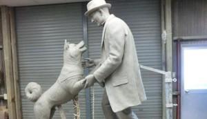 estatua hachiko id