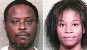 hombre y mujer  condenado houston tortura animal
