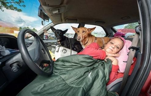 profesora-vive-en-coche-con-sus-perros1