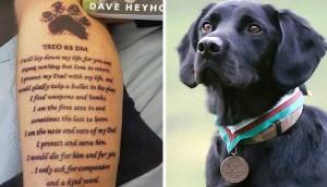 soldado perro homenaje tatuaje portada