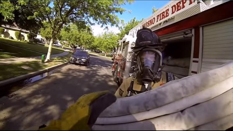 bomberos salvan gatito 1
