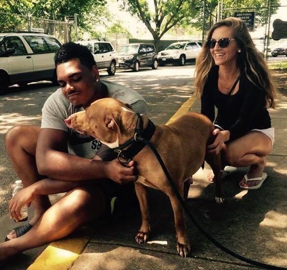 Jugador-futbol-rescata-perro 4