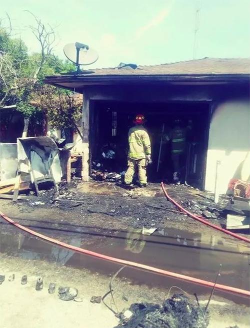 Gatitos rescatados incendio Fresno